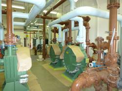 Coating on industrial equipment