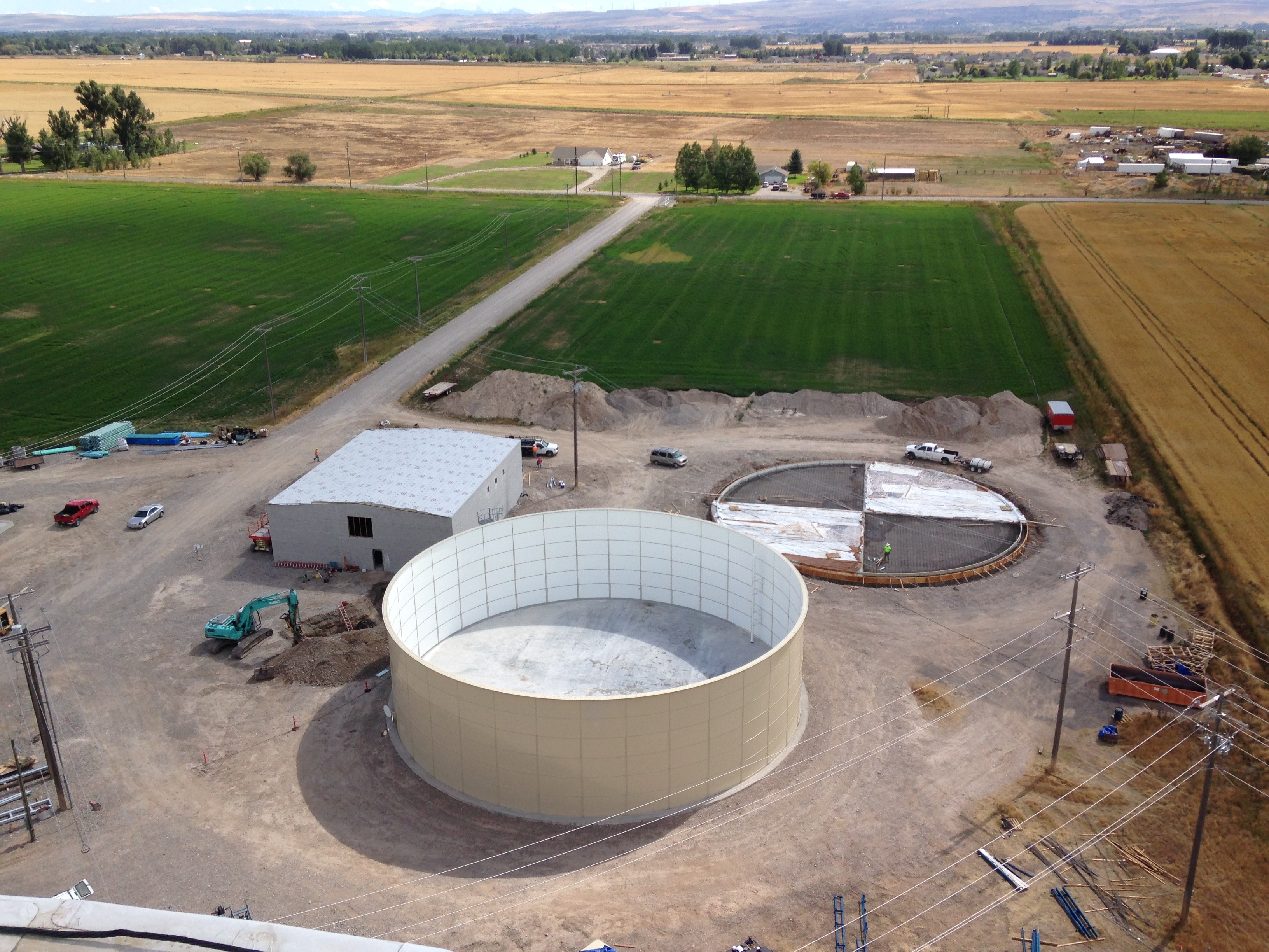 Wastewater Building and Tanks