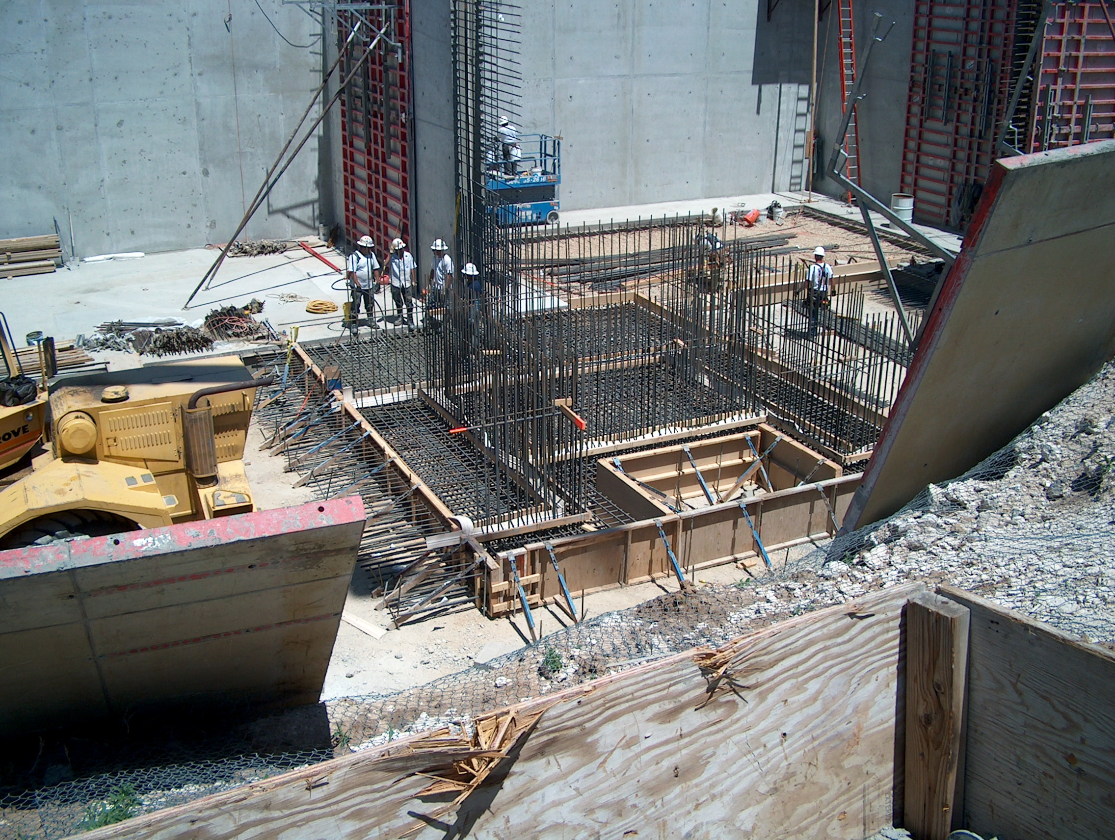 Structural base slab