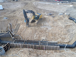 Clarifier Excavation and Piping