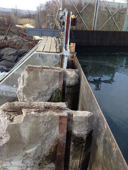 Steel bulkhead water control