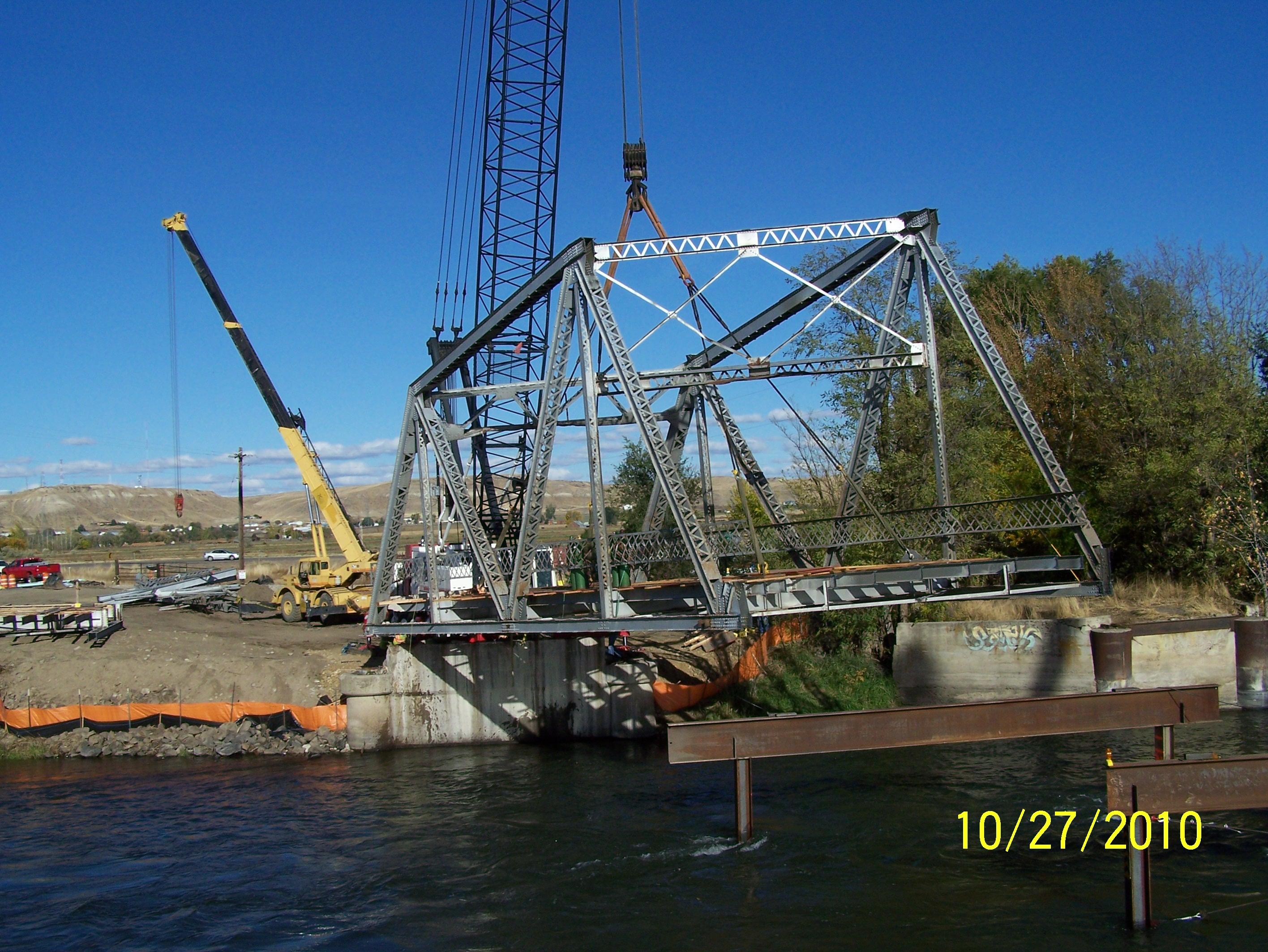 Payette River Bridge Removal