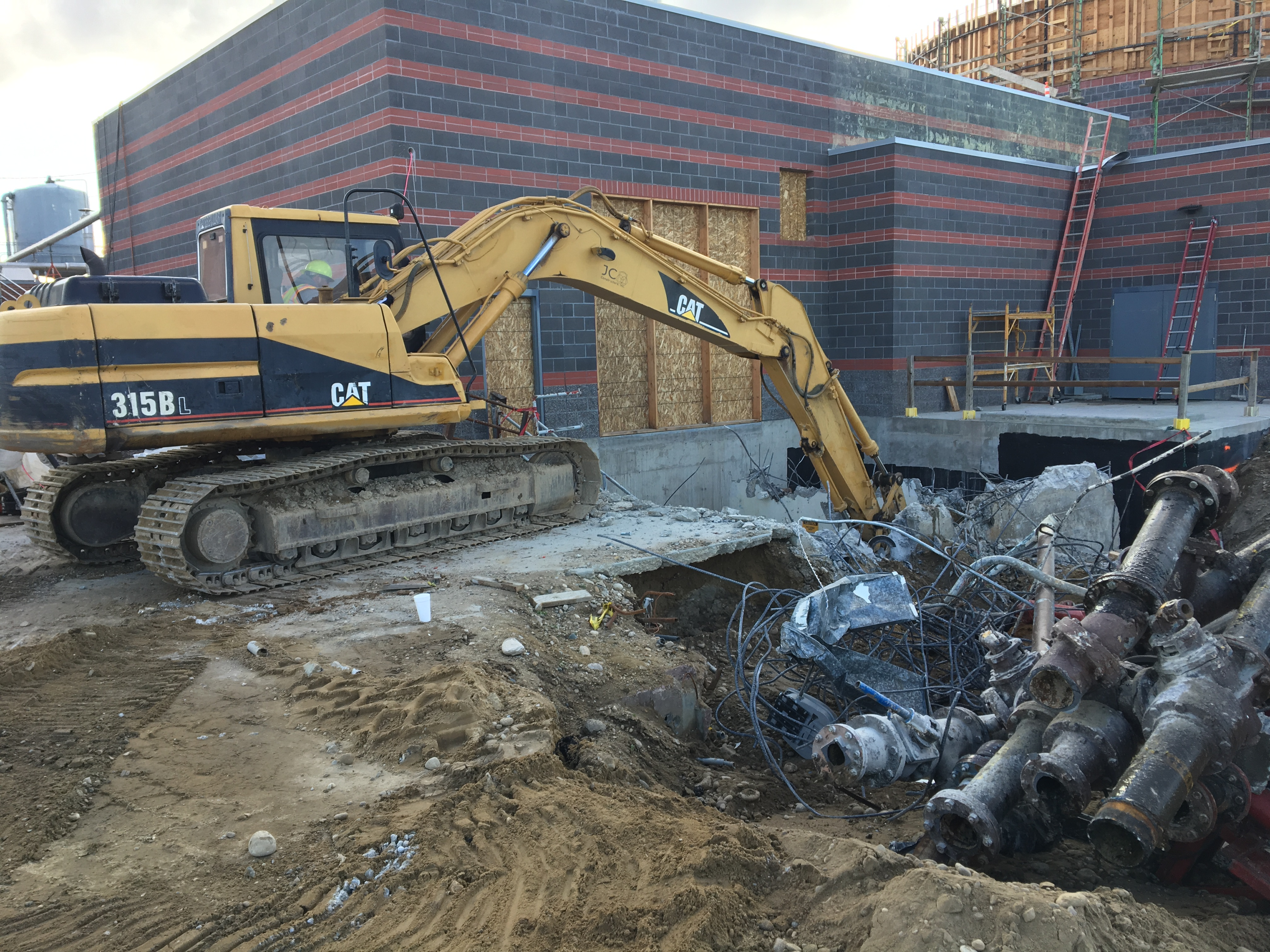 Caldwell Digester Demolition