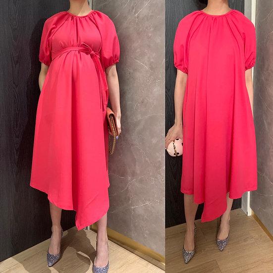 YOON DRESS-bubba pink