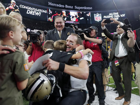 NFL's Drew Brees Gives The Country A Much Needed Dose Of Positivity