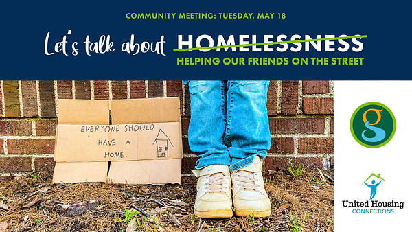 Comm Mtg - Homelessness - Event and Web_