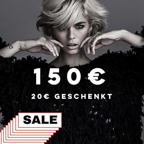 150€ Mehrwert-Gutschein