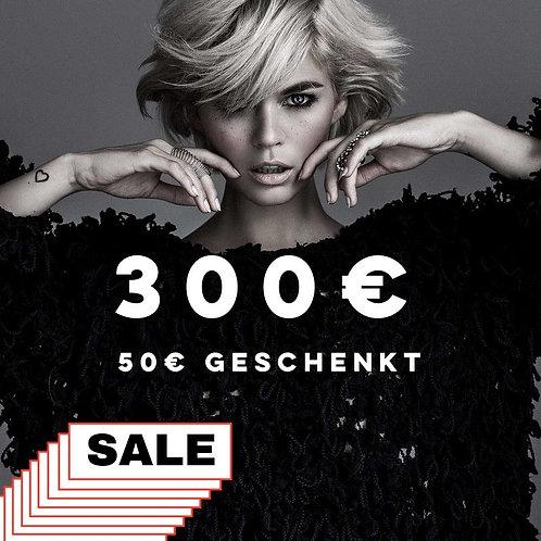 300€ Mehrwert-Gutschein