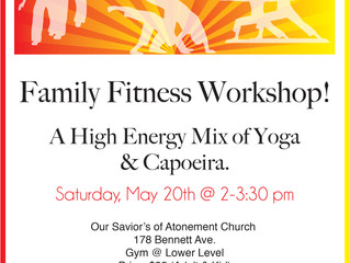 Announcing Ginga Fun Workshop for the Family!!!!