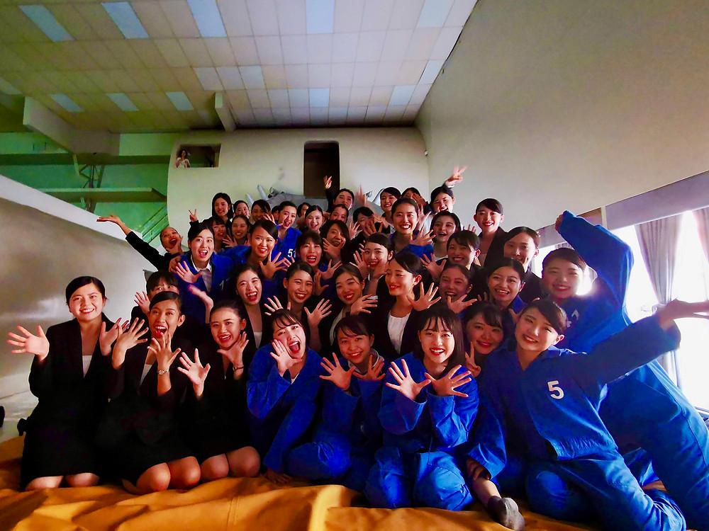 フィリピン航空の研修センターでHoney Jが主催する研修プログラム