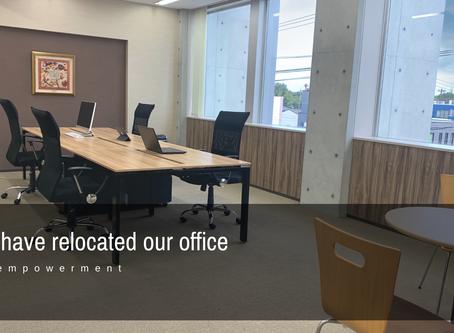 事業拡大で新オフィスへ