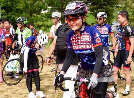 声優 野中藍さん参加ロードバイク競技