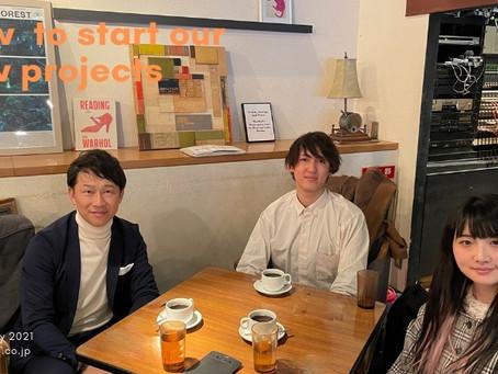 フレイザースイート赤坂東京 取材ミーティング