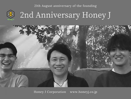 Honey J Corporation's 2 years anniversary
