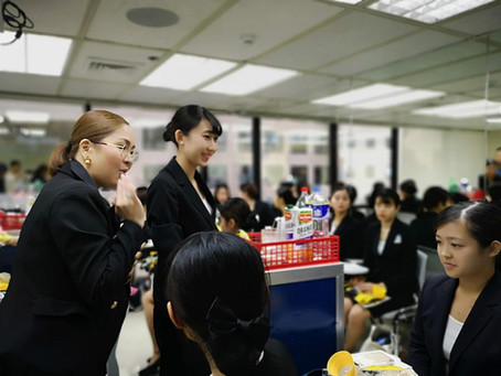 ICATS キャビンクルー研修体験!