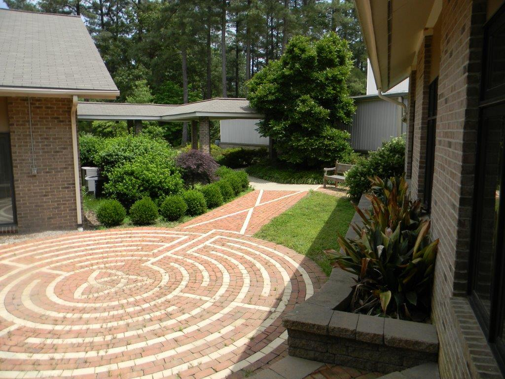 Courtyard with Labyrinth