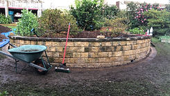 Curved retaining wall.JPG