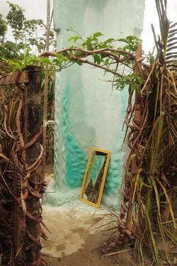 Duschen auf Hof Apaoka