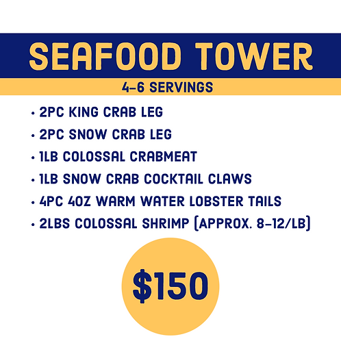 Seafood Tower Pack