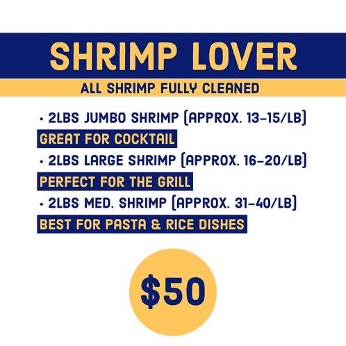 Shrimp Lover Package