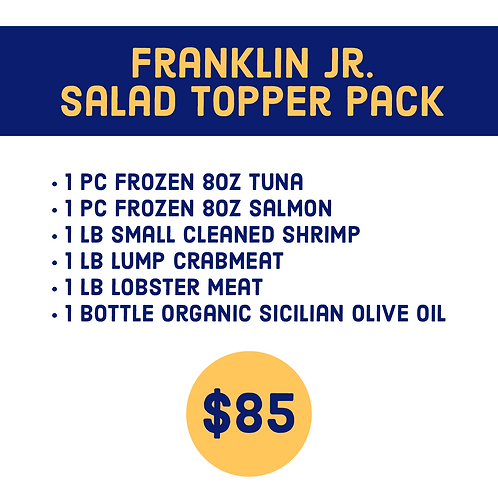 Franklin Jr. Salad Topper Pack