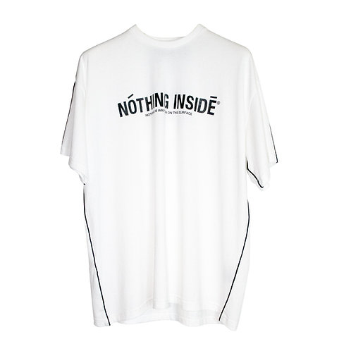 NOTHING INSIDE PIPED HOODIE