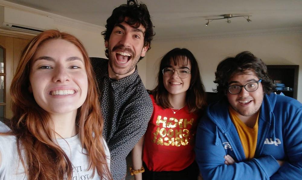 Grabación de #ClarayConcisa7 'San Valentín' con elbolisexologo, Alejandro