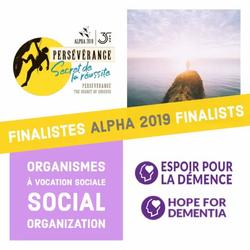 Alpha 2019 Finalists