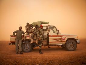 Sandstorms in Niger