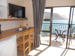 Kitchenette with balcony