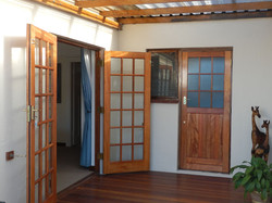 Deck door