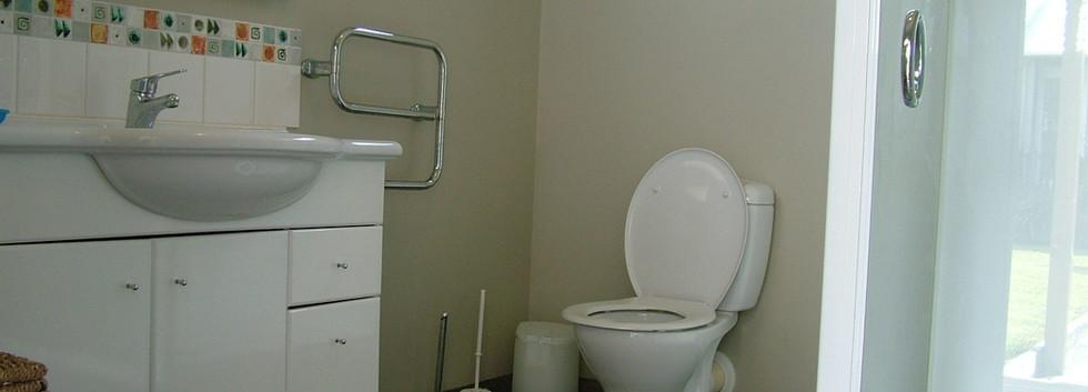 Sleepout bathroom
