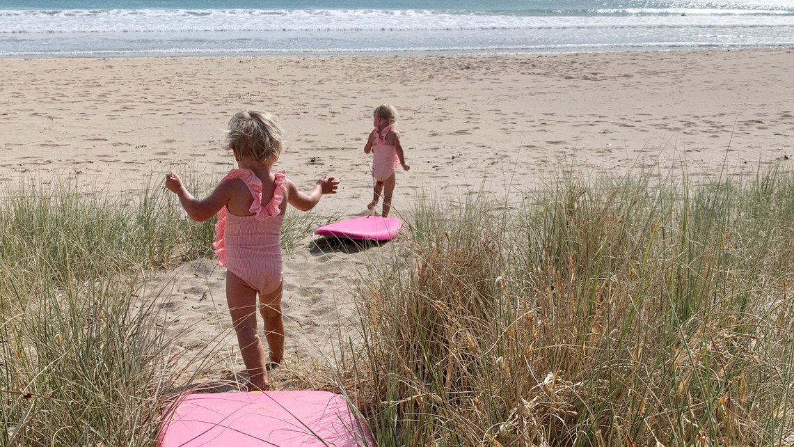 Taupo Bay Beach kids