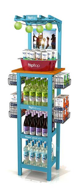 FlipFlop Summer Wine Display