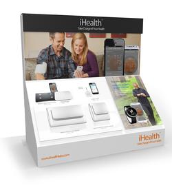 iHealth Best Buy Display