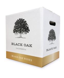 Black Oak Wine Shipper Carton