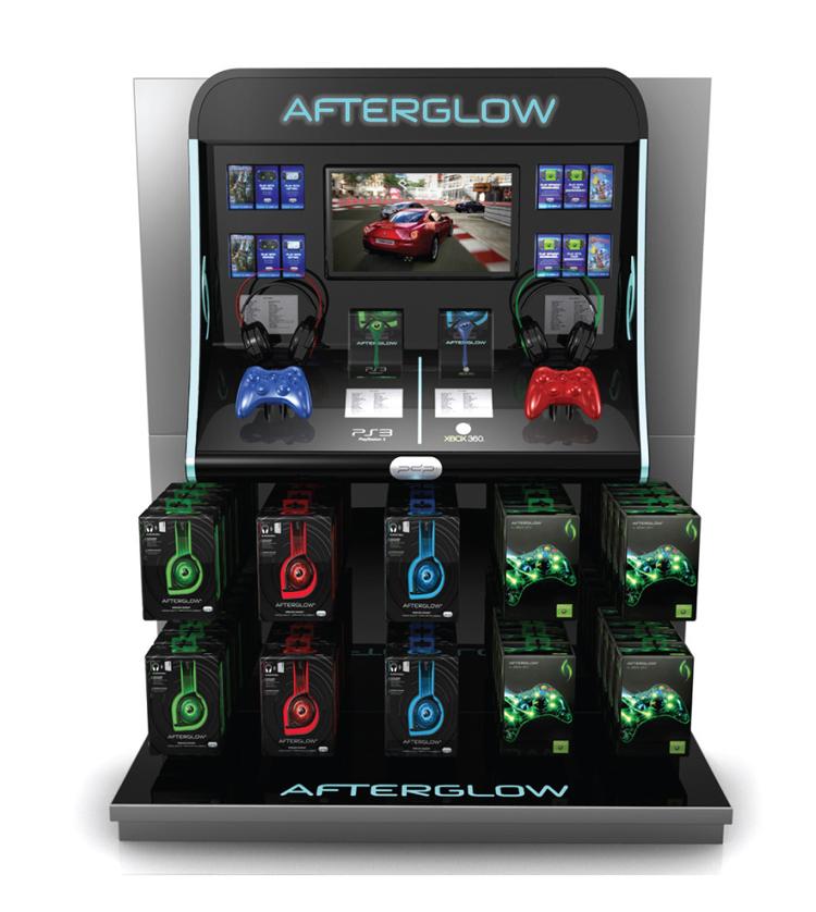 Afterglow Target Display
