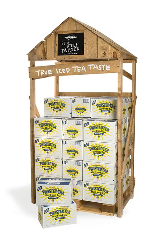 Twisted Tea Shack Display