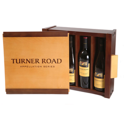 Turner Road Wooden Wine Box