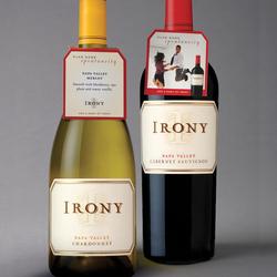 IRONY label and Necker Designs