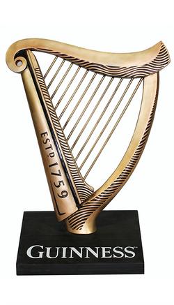 Guinness Harp Display