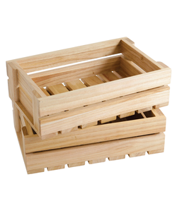 Wood Cosmetic Trays