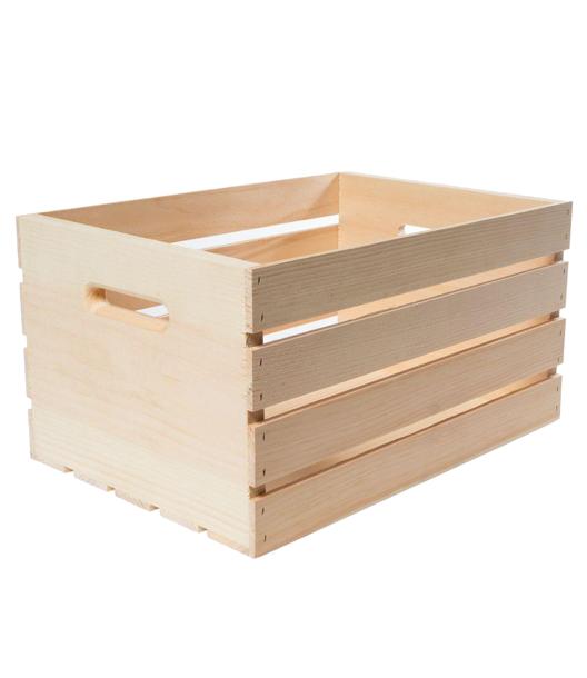 WalMart Wood Crate