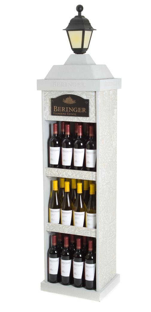 Beringer Post Display