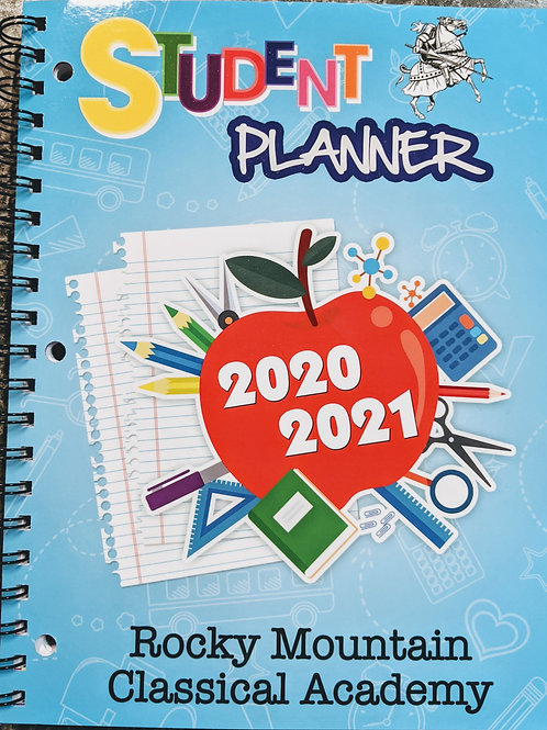 1st & 2nd Grade Student Planner