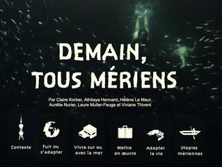 """""""Demain, tous mériens"""" sélectionné au FReDD"""