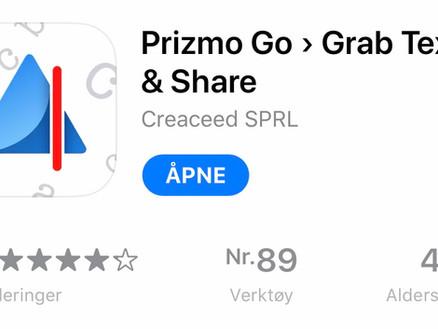 Fra ark til lyd: Prizmo Go