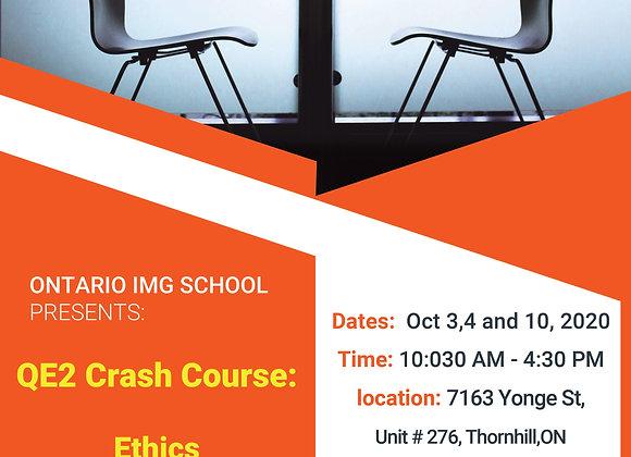 QE2 Crash Course