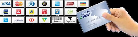 Crossfit Pisos aceita várias formas de pagamento