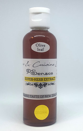 9 Senses New Zealand best olive leaf extract, vegan, organic,herbal  flavor